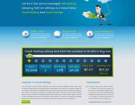 Nro 13 kilpailuun Website Design for cloud hosting and cloud storage mini site for major UK hosting company käyttäjältä nitinatom