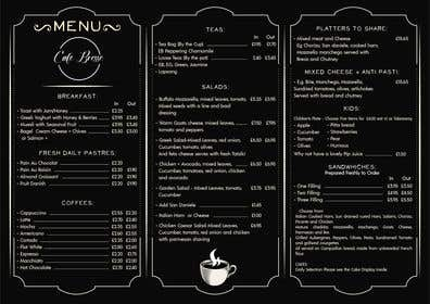 Kuva                             Design a Basic Cafe Menu - logo ...