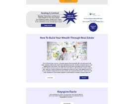 Nro 8 kilpailuun Redesign existing landing page. käyttäjältä mimahir