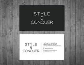 #107 for Develop a Corporate Identity for a Costume Designer, 'Style + Conquer' by dnoman20