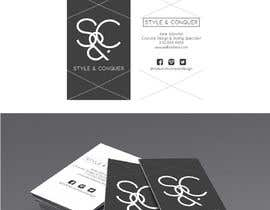 #89 for Develop a Corporate Identity for a Costume Designer, 'Style + Conquer' by paurincon90