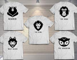 #6 cho Searching for 5 animal T-Shirt designs bởi genesispaul04