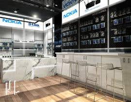 nº 28 pour Technology shop Interior Design par Wenikafiverr