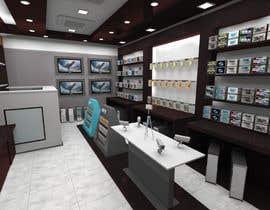 nº 22 pour Technology shop Interior Design par mdshikot422
