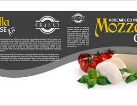 #12 สำหรับ Sleeve Label Design for Mozzarella Cheese Kit โดย jeevasan