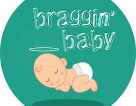#35 untuk Braggin' Baby Logo oleh mitunshivkumar