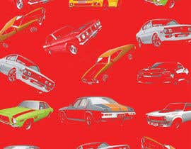 #32 สำหรับ Background  Skin / Collage needed of Muscle Car Pattern / Arrangement โดย savitamane212