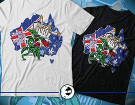#63 for Design a T-Shirt relating to Australia and Cannabis by eliartdesigns