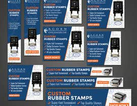 #70 for Custom Stamps AdWords Banners (10 Sizes) by rizoanulislam