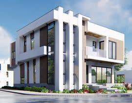 #75 for Realistic exterior rendering of a modern house by sajeervellur