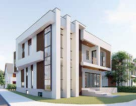 #24 cho Realistic exterior rendering of a modern house bởi yangjinhyun