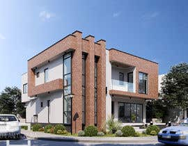 #66 for Realistic exterior rendering of a modern house by Nica3D