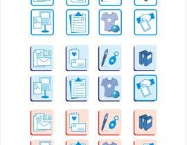 #11 for Design icons for print material categories by atta0315