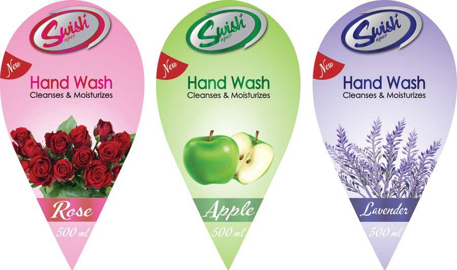 Kilpailutyö #32 kilpailussa Create Print and Packaging Designs - Liquid Hand Soap Label