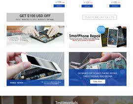 #14 for Design ideas for mobile phone repair site on PSD or any other format. by mazcrwe7