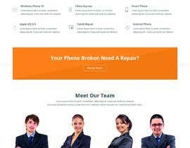 #32 for Design ideas for mobile phone repair site on PSD or any other format. by yeasir119