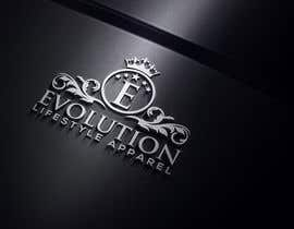 #105 for Evolution Lifestyle Apparel represents a line of clothing and accesories by naseer90