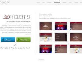 #16 para Can you improve the website thoughtyapp.com? por WeaveOwnWeb