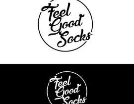 #200 para 'Feel Good Socks' Logo Design por Plastmass
