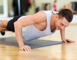 #61 for Find me a good image of someone doing push ups by designsbymallika