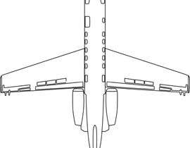 #39 for Line-Art Vectors of Airplanes (Multiple Winners) by stebo192
