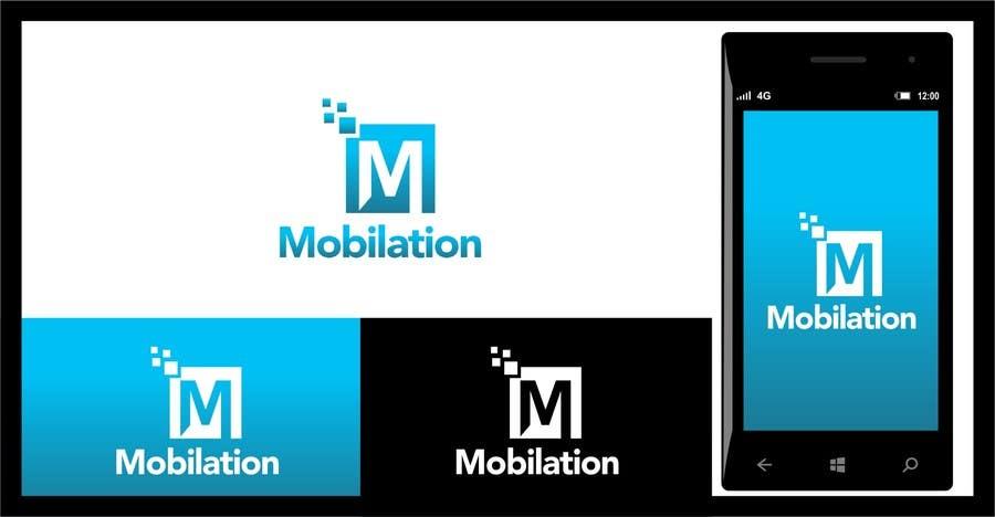 Penyertaan Peraduan #                                        6                                      untuk                                         Logo Design for Mobilation