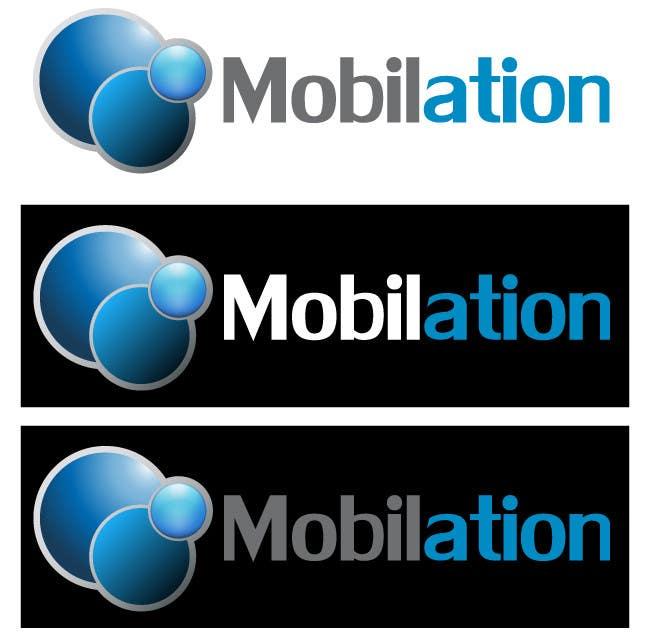 Penyertaan Peraduan #                                        70                                      untuk                                         Logo Design for Mobilation