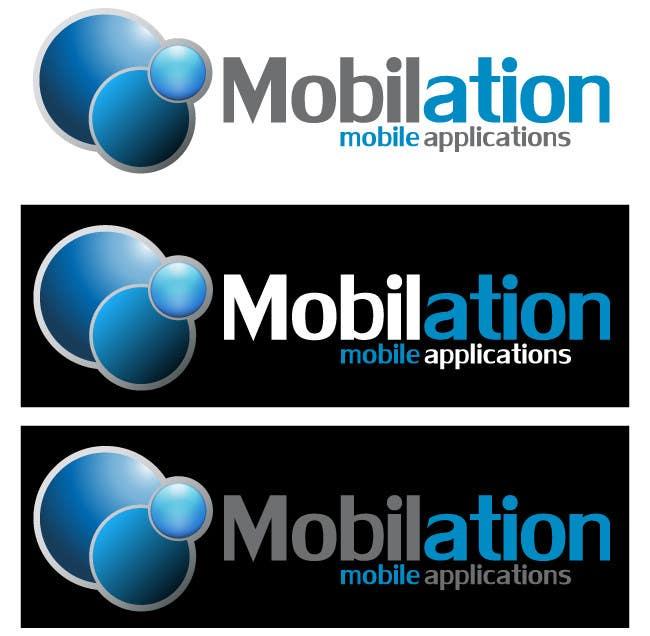 Penyertaan Peraduan #                                        60                                      untuk                                         Logo Design for Mobilation