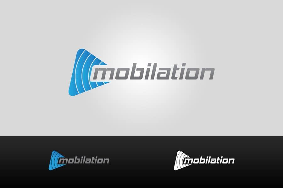 Penyertaan Peraduan #                                        154                                      untuk                                         Logo Design for Mobilation