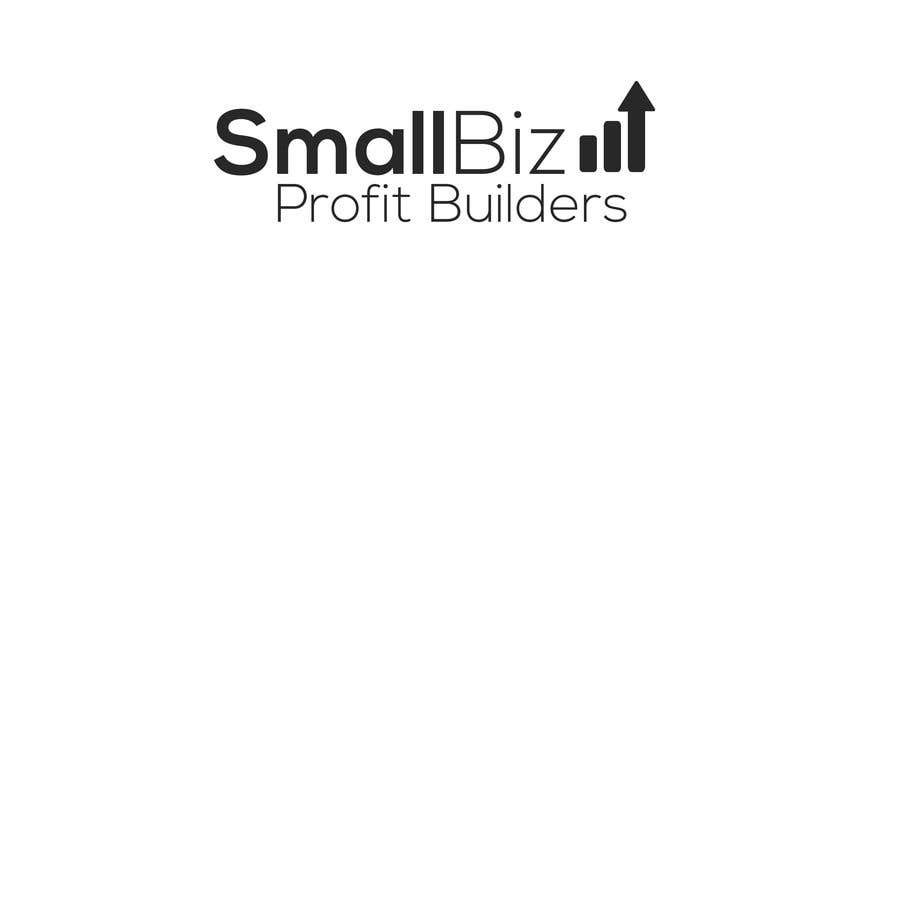 "Contest Entry #1 for I need a logo for my newsletter called ""Small Biz Profit Builders"".    Logo should have both and image and text. Something money related would be acceptable."
