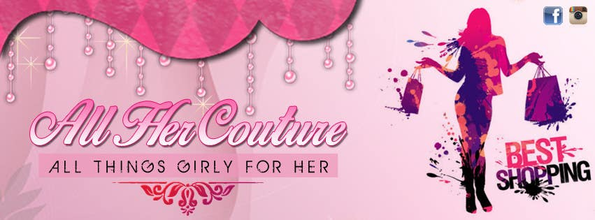 Entry #45 by yassminbel for Online Girly Boutique Banner & MORE