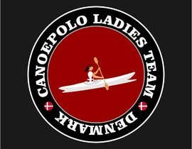 #34 for Build me a logo for the national danish ladies canoepolo team by Jimiyanu