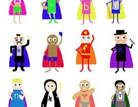 Nro 31 kilpailuun Illustration of 48 avatars for edutech game käyttäjältä sonnybautista143