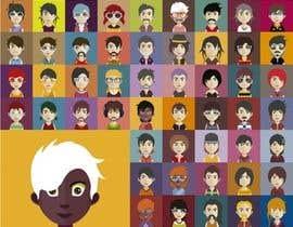 Nro 28 kilpailuun Illustration of 48 avatars for edutech game käyttäjältä bria123