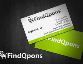 #80 dla Business Card Design for FindQpons.com przez topcoder10