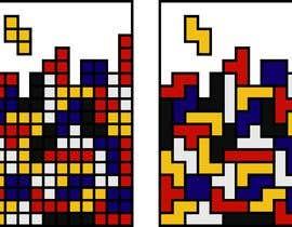 #20 for Design a poster - tetris by pigulchik