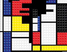 #6 for Design a poster - tetris by littlenaka