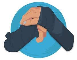 nº 19 pour Illustrate Fists - Boxing Fist with Hand Wraps par nkbcreations