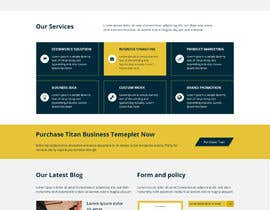 #28 for Photoshop design for a finance website by babupipul001