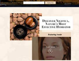 nº 25 pour Homepage Redesign for Luxury Skincare Brand par saidesigner87