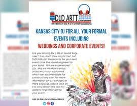 #9 for Advertisement  brochure for D1D Artt Entertainment by azgraphics939
