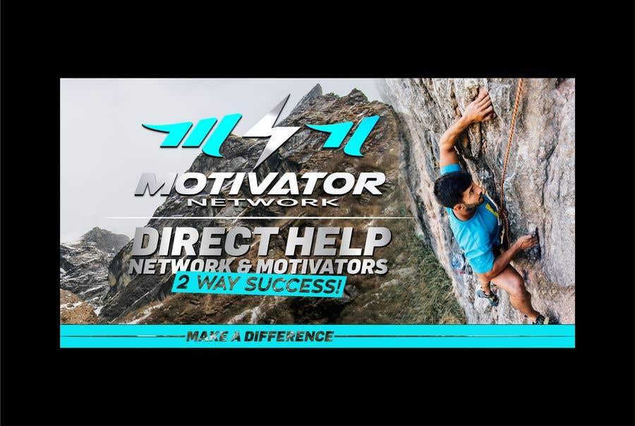 Kilpailutyö #52 kilpailussa Design a Banner - Motivator Network
