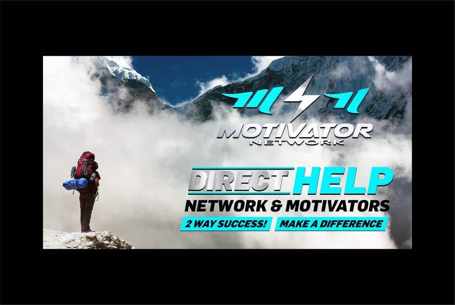 Kilpailutyö #56 kilpailussa Design a Banner - Motivator Network