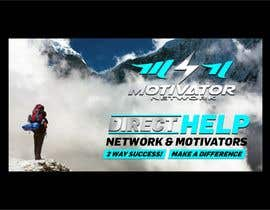 #56 for Design a Banner - Motivator Network by jamiu4luv