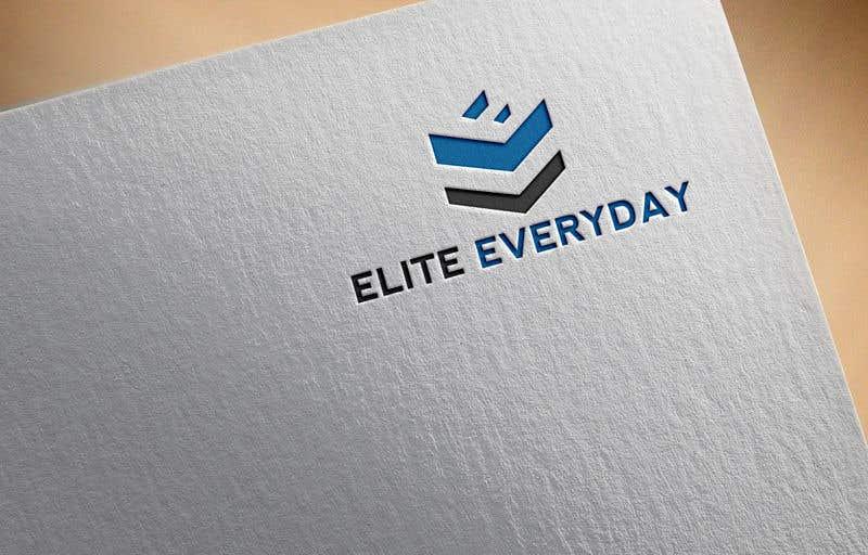 Penyertaan Peraduan #344 untuk Logo for Elite Everyday