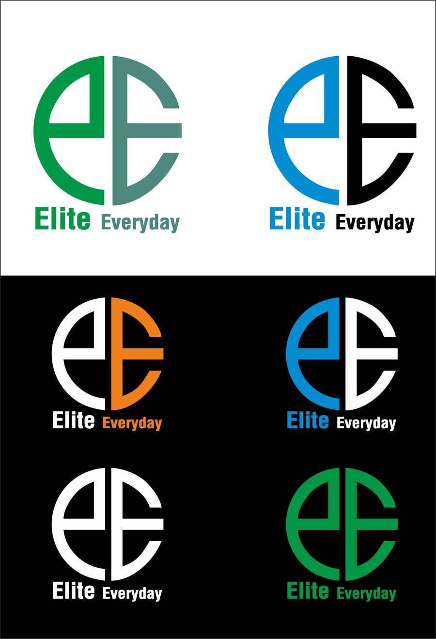 Penyertaan Peraduan #272 untuk Logo for Elite Everyday