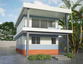 #4 untuk residential building external colour design (nautical theme) oleh frisa01