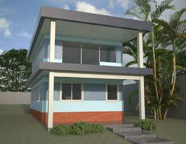 #7 untuk residential building external colour design (nautical theme) oleh frisa01