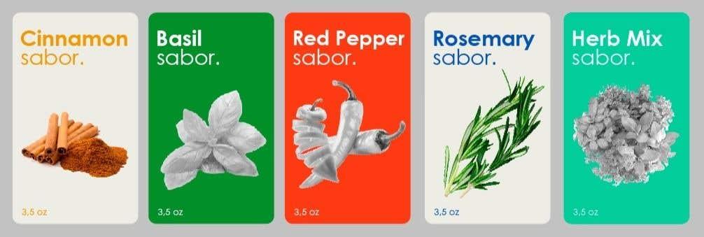 Penyertaan Peraduan #26 untuk design label for spicy's jar,