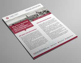 #148 for Design a Flyer to be used by a financial and commercial real estate company by D0000N